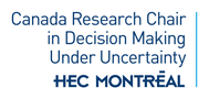 Canada Research Chair in Decision Making Under Uncertainty Logo